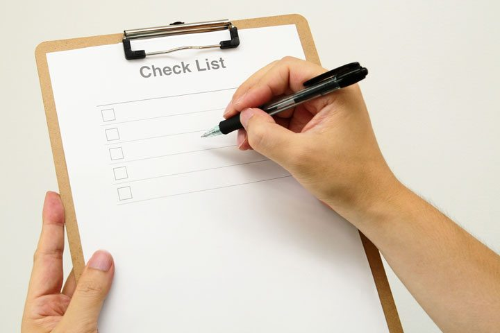 Checklist for Nursing Home