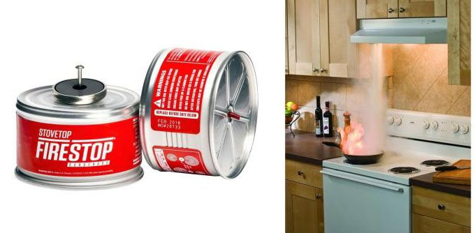 Stove Top Fire Stop Automatic C Fire Extinguisher