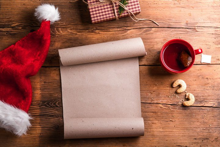 Santa empty wish list