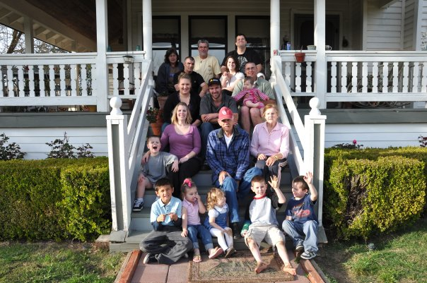 My family at the folks place