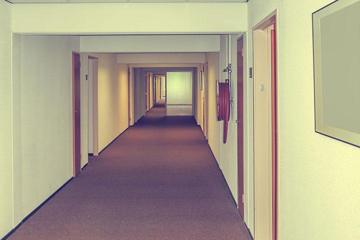 An empty hall