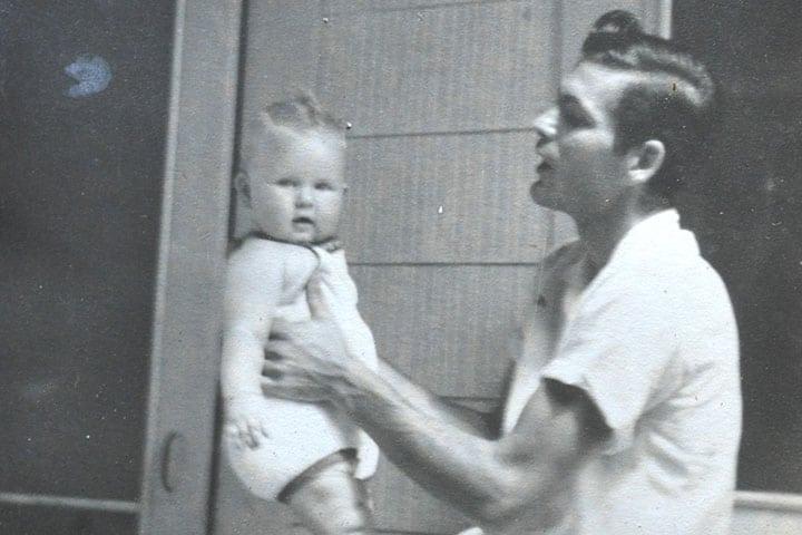 Karen and her dad