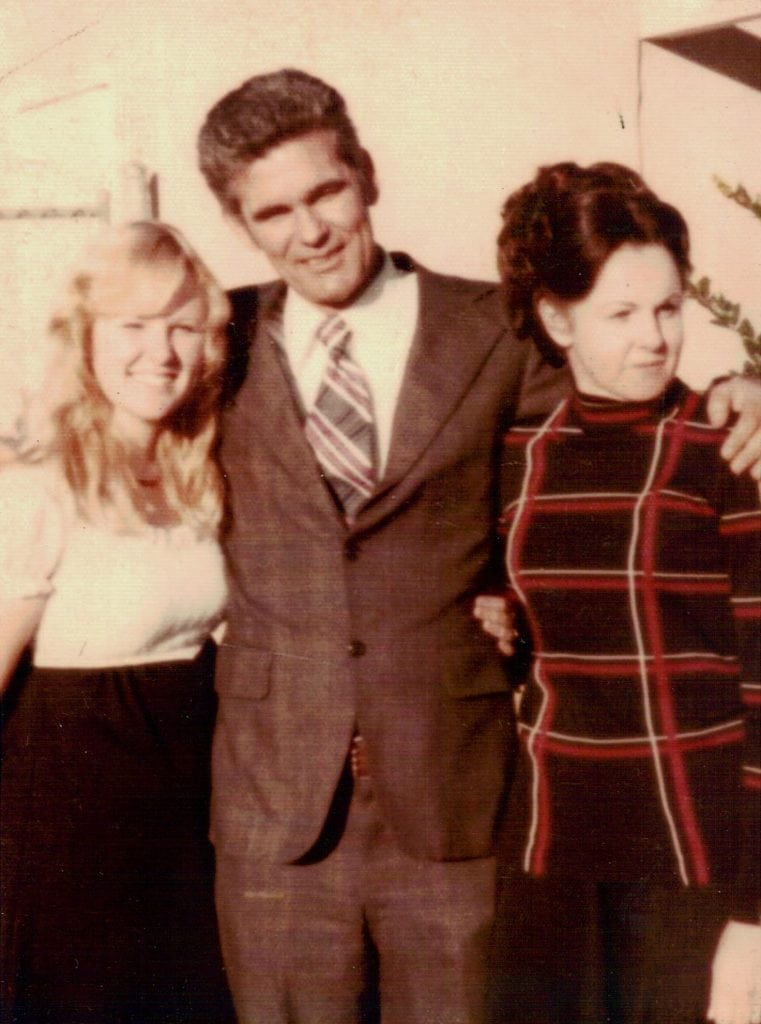 Karen, mom and dad