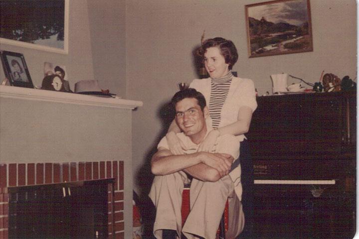 Karen's mom and dad
